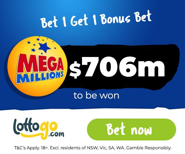 US MegaMillions Bet 1 Get 1 Bonus Bet
