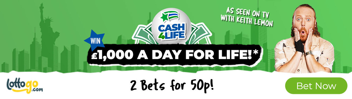 Cash4Life Bet 1 Get 1 Free